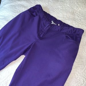 EUC purple Greys Anatomy by Barco scrub pants